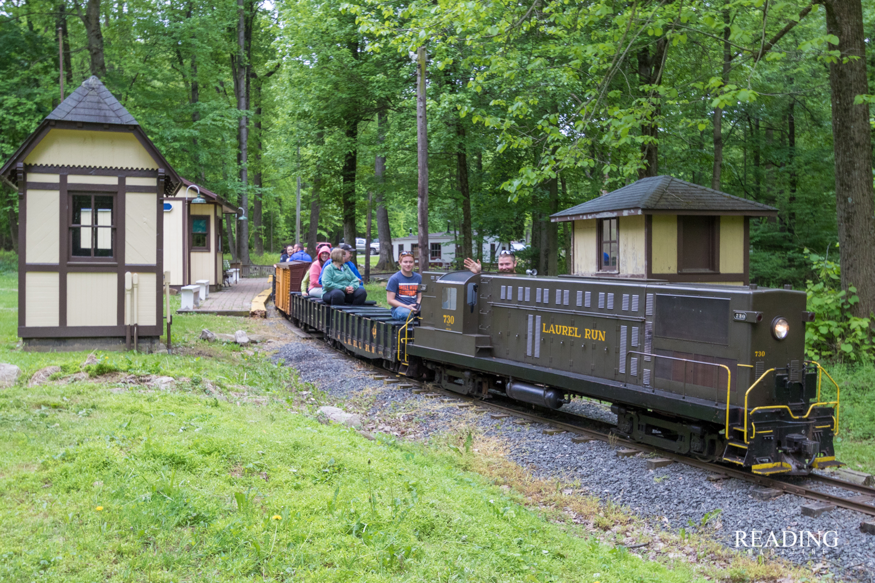 All Aboard The Laurel Run Railroad Holds Spring Open