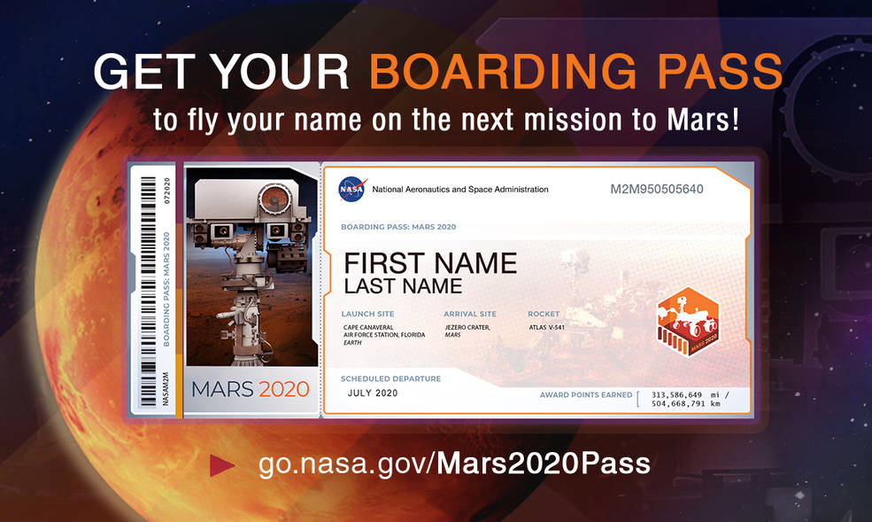 NASA invites public to be part of Mars mission